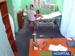 fakehospital醫生公雞和承諾的加薪停止性感的護士