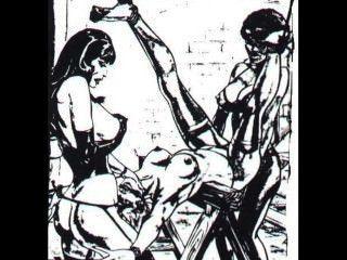 奴隸bdsm動畫片藝術的奴隸