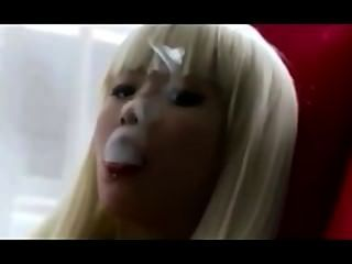 亞洲exhales_smoking戀物癖。