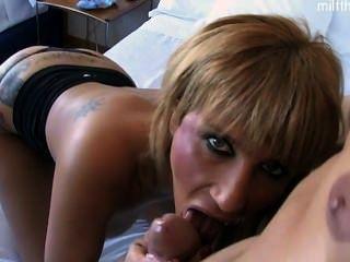 熱的妻子裂縫妓女