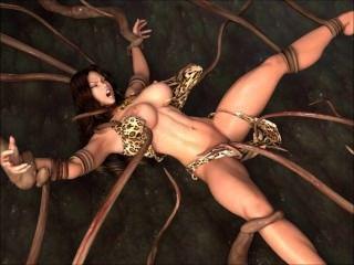 cavewoman vs觸手