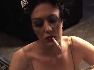 吸煙瑪麗jane綠色