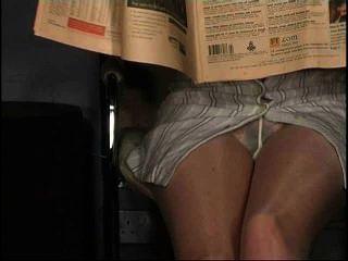 連褲襪上衣,沒有內褲