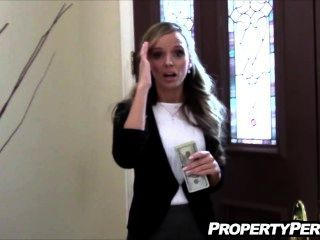 房地產代理他媽的過度客戶幫助賣房子自製視頻