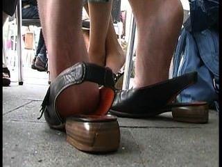 哇鞋底享受