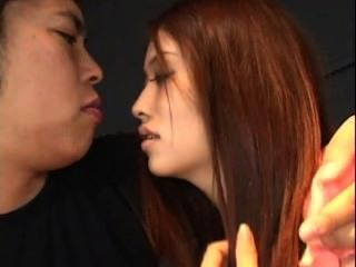 亞洲青少年得到性交和餅