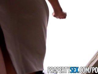 propertysex性感亞洲房地產經紀人被騙做性視頻