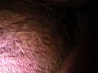 拍攝我的負載在她的屁股