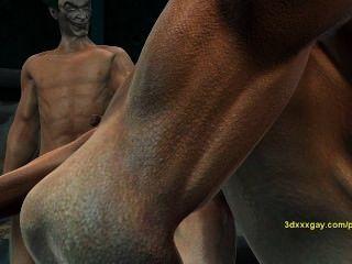 羅賓經驗小丑地獄第一隻手,得到他媽的硬2