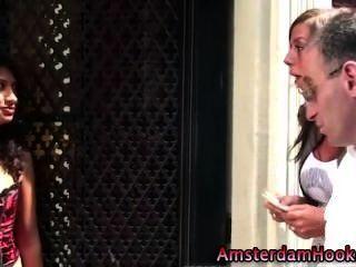 真正的核心歐洲妓女