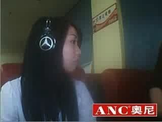 好中國女孩抽煙