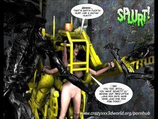 3d漫畫:spermaliens。第2集