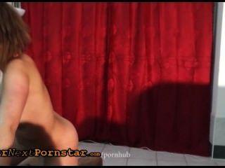perky wannabe舞蹈和得到性交