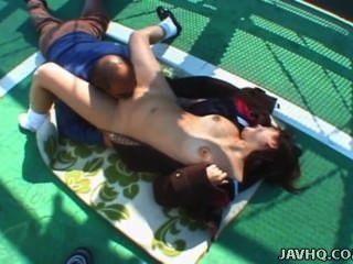 日本青少年舔和性交戶外未經審查