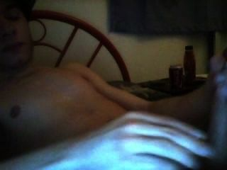 在臥室第1部分有一個手銬