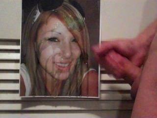 驚人的巨大的射液在熱的年輕女孩進貢圖片