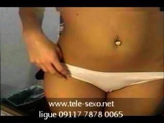漂亮的滴定寶貝在網絡攝像頭www.tele sexo.net 09117 7878 0065
