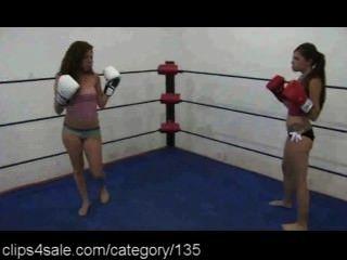 女拳擊在clips4sale.com