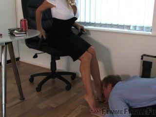 女性的腳崇拜