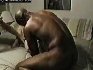 熱的視頻黑人男人打屁股白色的貓