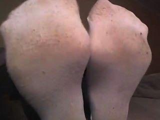 白色襪子的女孩顯示