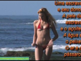 好的剃的beachgirl顯示她的美麗garota depiladinha de fio牙科