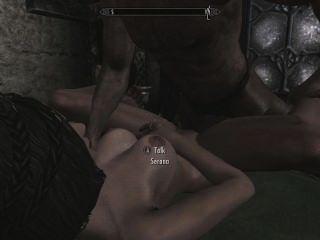 skyrim與serana的性別